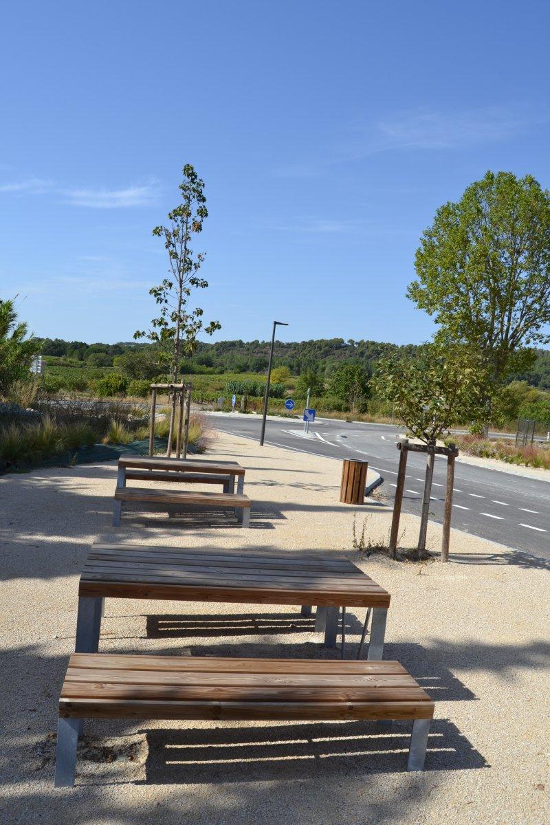 Parc des Fontaynes  à Villes-sur-Auzon